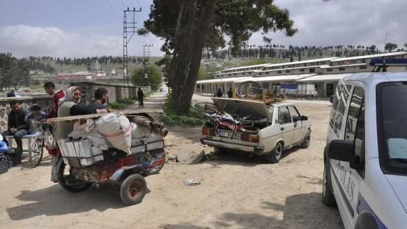 Gaziantepte pazar alanında bomba ihbarı