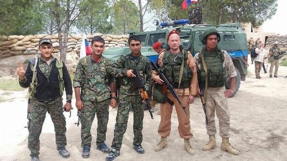 Rus askerlerinin Afrin sınırı yakınlarında konuşlandığı iddiası