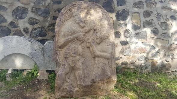 Ereğlide bulunan 2700 yıllık steli bakanlık uzmanları inceleyecek