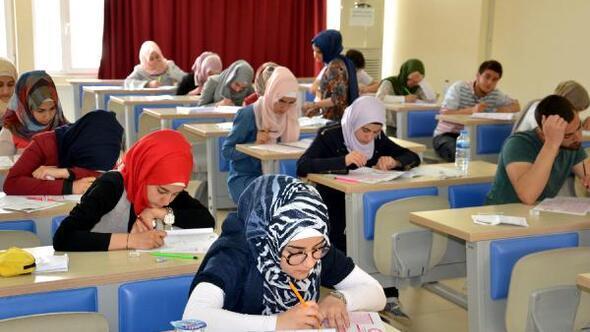 Yabancı öğrenciler üniversite sınavında