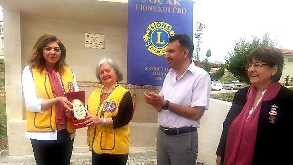 Beşocak Lionstan okula çeşme
