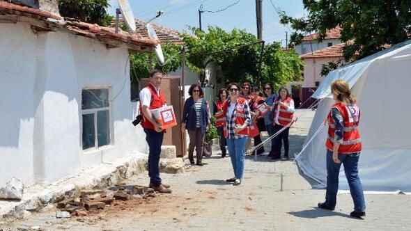 Manisada deprem psikolojileri bozdu