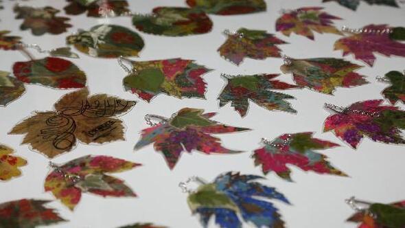 Yapraklar Odunpazari Nda Sanat Eserine Donusuyor