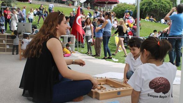 Karum'da Montessori açık sınıf etkinliği