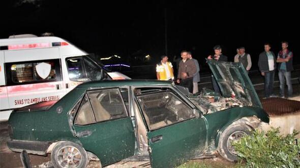 Suşehrinde kaza: 3 yaralı