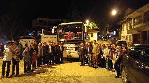 Gölovalıöğrenciler Ankarayı gezdi