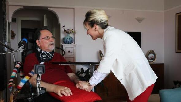 Salnurdan ALS Günü ziyareti