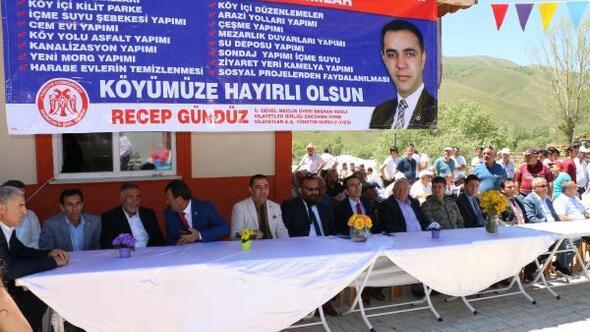 Cemevi açılışında birlik ve beraberlik mesajları verildi