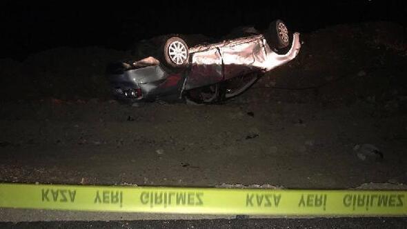 Sivasta otomobil takla attı: 2 ölü, 4 yaralı