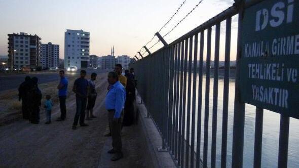 Suriyeli genç sulama kanalında kayboldu