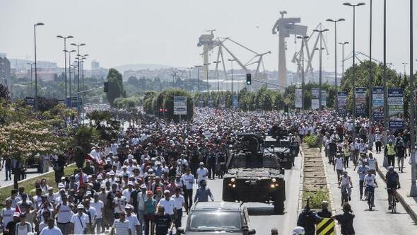 Fotoğraflar // Adalet Yürüyüşü son gününde