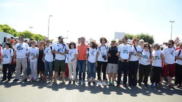 Adalet Yürüyüşü son gününde;Gazetecilere Özgürlük Platformu üyeleri de yürüdü