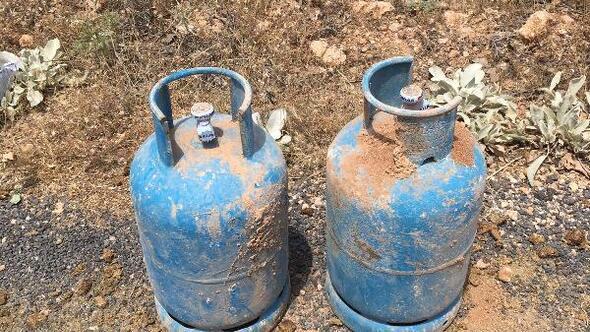 PKKnın yola tuzakladığı 250 kilo patlayıcı imha edildi