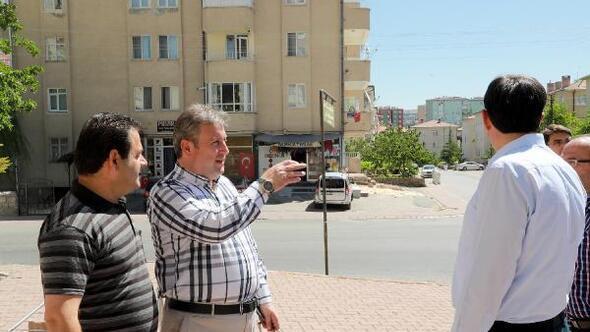 Talas'ta elektrik hatları yer altına alınıyor