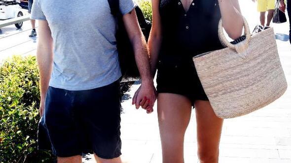 Adriana Lima ve sevgilisi Metin Hara, mavi yolculukta