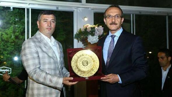 Başsavcı Ahmet Çiçekliye veda yemeği