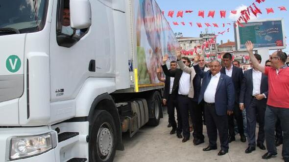Umraniye Belediyesi Dogudaki Cocuklara Oyun Tiri Gonderdi
