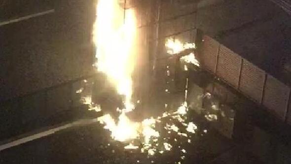 Bayrampaşada otel yangını