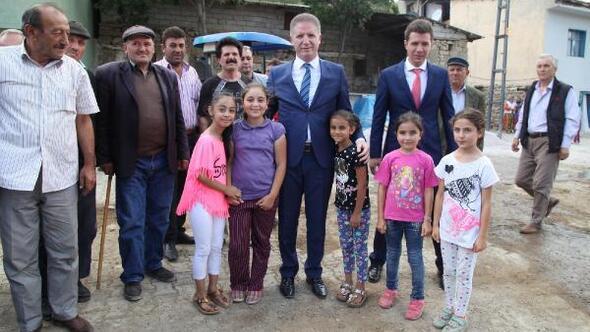 Vali Gül, Zara köylerini ziyaret etti