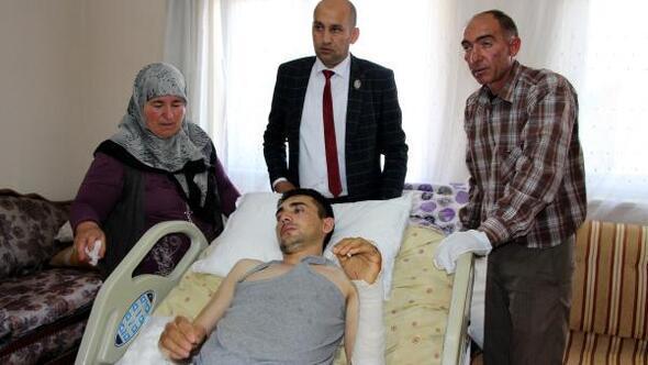 Uzman Çavuş, izine gelirken bombalı saldırıda yaralandı