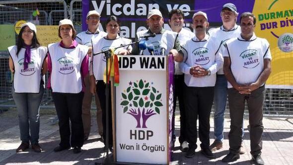HDP'nin Van'daki Vicdan ve Adalet Nöbeti sona erdi