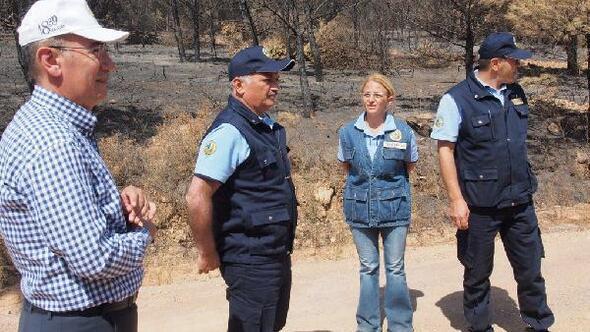 Balıkesir Valisi Yazıcı; Ayvalıkta yanan alanın yapılaşmaya açılması söz konusu değil