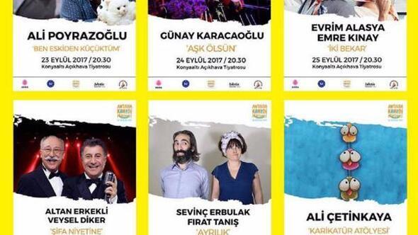 Antalyada komedi festivali