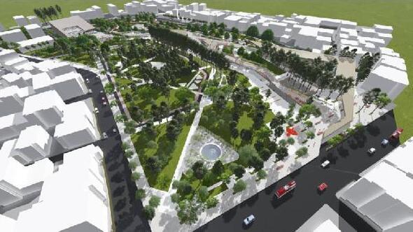 Şirinyer Parkına yeni çehre