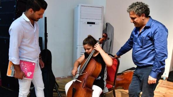 Orkestra seçmelerine ilgi