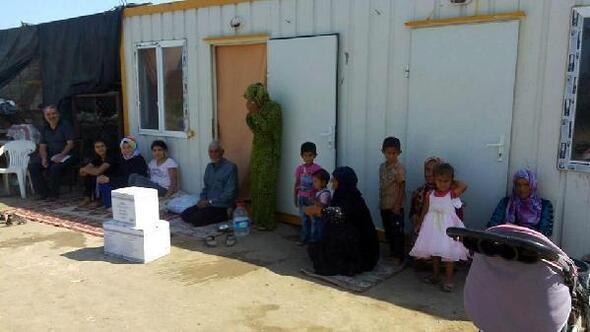 Burhaniyede 110 aileye gıda yardımı