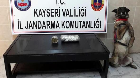 Pınarbaşıda uyuşturucu operasyonu