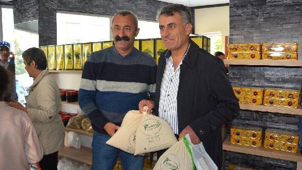 Ovacık Belediye Başkanından esprili bal açıklaması: İstanbulda Komünist bal satışına başladık
