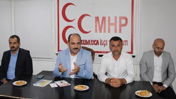 MHP Kumlucada ilçe toplantısı