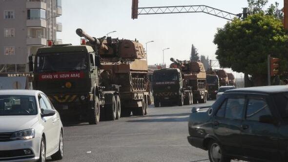 Kilisin Suriye sınırına askeri sevkiyat