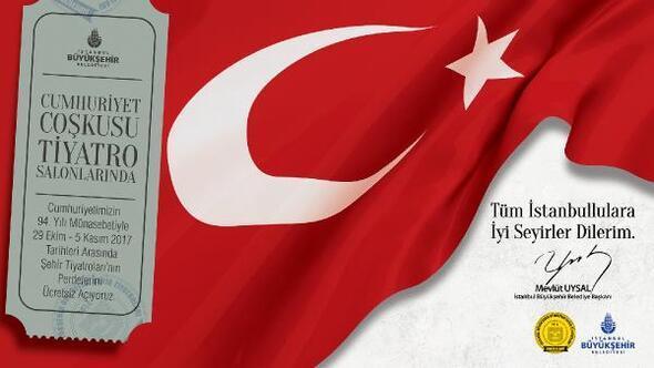 Şehir Tiyatroları, İstanbullular için ücretsiz perde  diyecek