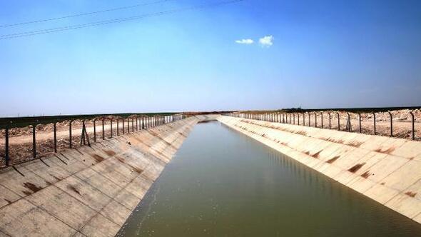 Mardinde 221 kilometrelik Bereket kanalına deneme suyu bırakıldı