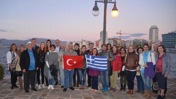 Yunan rehberler İzmiri gezdi