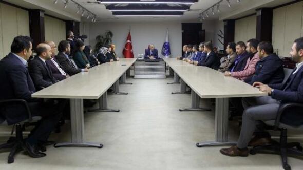 AK Parti Kocasinan ilçe teşkilatından Başkan Çelike ziyaret