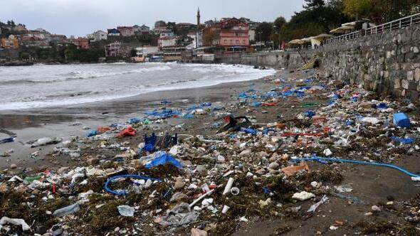 Amasrada çöp liman tepkisi