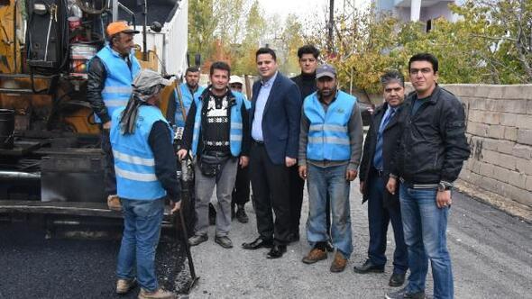 İpekyolu Belediyesi, asfalt çalışmalarına hız verdi