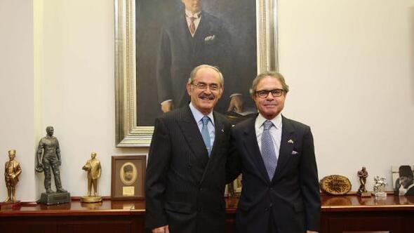 Brezilya Büyükelçisinden Büyükerşene ziyaret