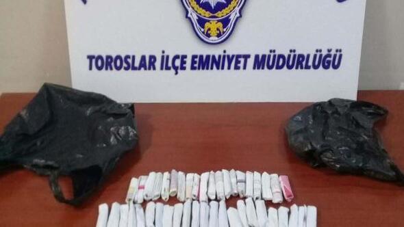 Mersin polis torbacılara göz açtırmadı