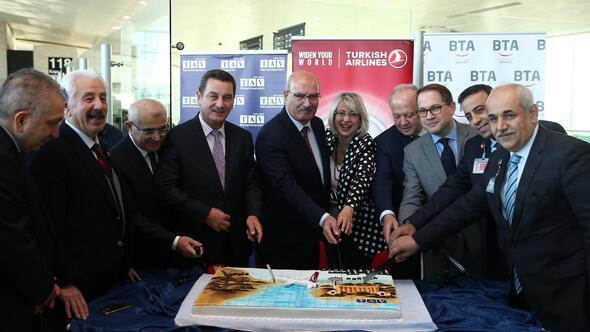 Ankara'dan Paris'e ilk uçuş