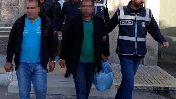 İzmirde dolandırıcılık operasyonu