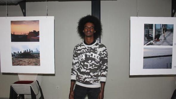 Kendisi de mülteci olan Somalili Abdi Deeq fotoğraflarıyla mültecilerin sesi olmak istiyor