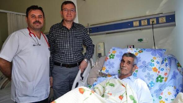 Pelvis kemiği kırılan hastaya başarılı operasyon