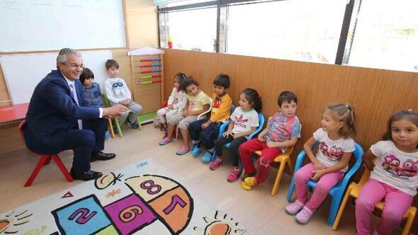 Karşıyakalı miniklere yeni eğitim yuvası