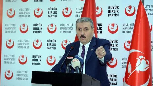 Destici: Saldırganlar Türk milletinin yüz karasıdır