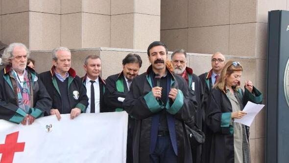 Çağlayanda 32inci Hafta Adalet Nöbeti