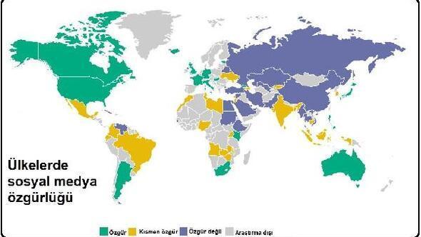 Rapor: 30 ülkede sosyal medya manipülasyoncuları kullanılıyor